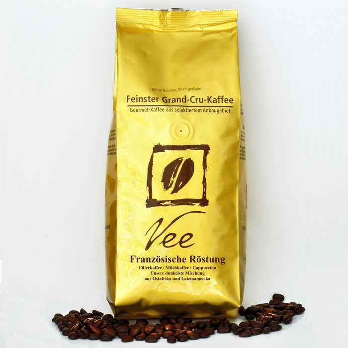 VEE's French Roast For Filter Coffee, Caffè Latte