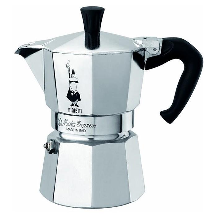 bialetti moka express espressokocher f r 1 2 3 4 und 6 tassen vee s kaffee bohnen gmbh. Black Bedroom Furniture Sets. Home Design Ideas